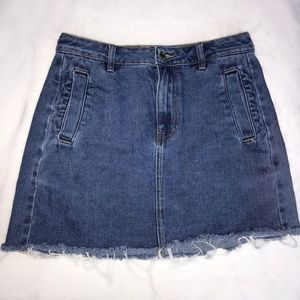 Blue Jean skirt from PacSun